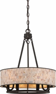 Quoizel AS2818PN Aristocrat Palladian Bronze 18  Pendant Lamp