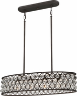 Quoizel AX434PN Alexandria Contemporary Palladian Bronze Island Lighting