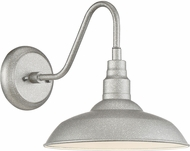 Quoizel BCE8410GV Beachside Galvanized LED Outdoor 10  Wall Sconce