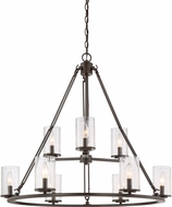Quoizel BCN5009WT Buchanan Western Bronze Chandelier Light