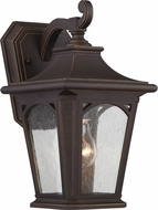 Quoizel BFD8407PNFL Bedford Palladian Bronze Fluorescent Exterior Sconce Lighting