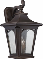 Quoizel BFD8410PN Bedford Palladian Bronze Outdoor Wall Lighting Sconce