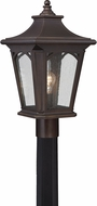 Quoizel BFD9010PNFL Bedford Palladian Bronze Fluorescent Exterior Post Light