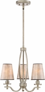Quoizel BHN5303VG Belhaven Vintage Gold Mini Chandelier Light