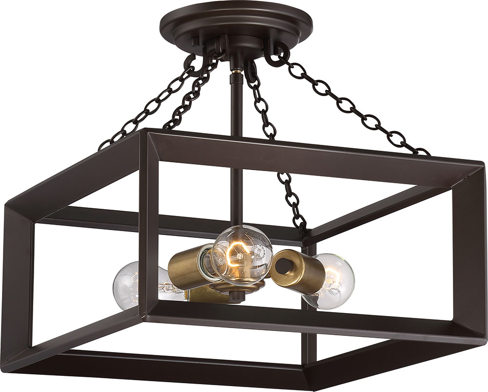 Quoizel bkh1714wt brook hall western bronze ceiling light fixture quoizel bkh1714wt brook hall western bronze ceiling light fixture loading zoom aloadofball Gallery