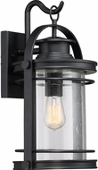 Quoizel BKR8410K Booker Mystic Black Outdoor 10.75  Lighting Sconce