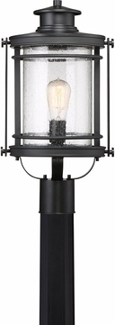 Quoizel BKR9010K Booker Mystic Black Outdoor Post Lighting