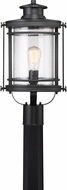 Quoizel BKR9010KFL Booker Mystic Black Fluorescent Exterior Post Lamp