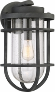 Quoizel BRD8410MB Boardwalk Contemporary Mottled Black Outdoor 10  Light Sconce