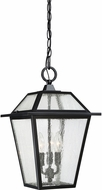 Quoizel BRE1911K Black Ridge Mystic Black Outdoor Pendant Light