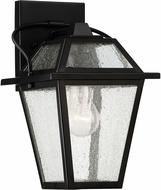 Quoizel BRE8407K Black Ridge Mystic Black Exterior 7  Wall Sconce