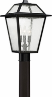 Quoizel BRE9011K Black Ridge Mystic Black Outdoor Post Lighting