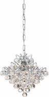 Quoizel BRX1512C Bordeaux w/ Clear Crystal Polished Chrome Xenon Pendant Lamp