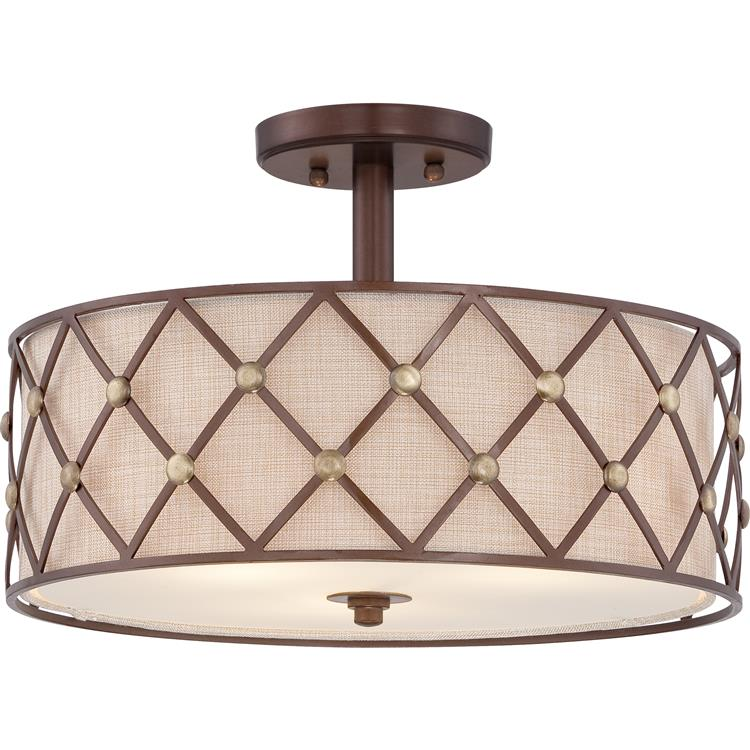 Quoizel bwl1717cc brown lattice copper canyon finish 11 tall quoizel bwl1717cc brown lattice copper canyon finish 11nbsp tall ceiling lighting loading zoom aloadofball Gallery