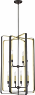 Quoizel CCE5208WT Cycle Contemporary Western Bronze Foyer Lighting