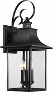 Quoizel CCR8410K Chancellor Mystic Black Exterior 10  Lighting Sconce