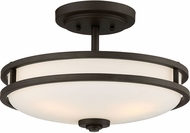 Quoizel CDT1715OZ Cadet Modern Old Bronze 15  Ceiling Lighting Fixture