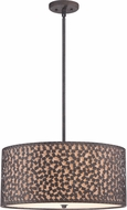Quoizel CKCF2822RK Confetti Contemporary Rustic Black Ceiling Light Pendant