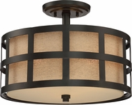 Quoizel CKMS1716TM Marisol Teco Marrone Flush Mount Lighting