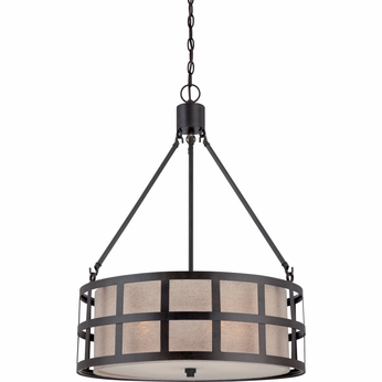 Quoizel CKMS2822TM Marisol Teco Marrone Finish 30  Tall Hanging Pendant Light