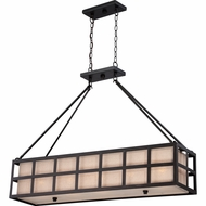 Quoizel CKMS442TM Marisol Teco Marrone Finish 42  Wide Kitchen Island Lighting