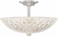 Quoizel CNR1716BN Contour Contemporary Brushed Nickel Overhead Lighting
