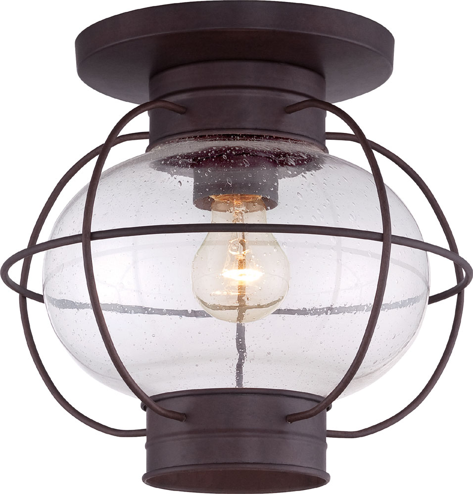 quoizel cor1611cu cooper vintage copper bronze outdoor ceiling light fixture quo cor1611cu