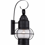 Quoizel COR8412K Cooper Traditional Mystic Black Finish 12  Wide Exterior Light Sconce