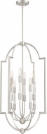 Quoizel CPL5208BN Chapel Contemporary Brushed Nickel Entryway Light Fixture