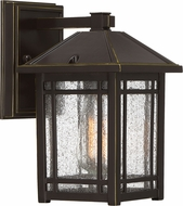 Quoizel CPT8406PN Cedar Point Palladian Bronze Outdoor 5.75  Lamp Sconce