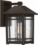 Quoizel CPT8408PN Cedar Point Palladian Bronze Exterior 7.75  Wall Sconce Lighting