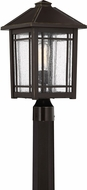 Quoizel CPT9010PN Cedar Point Palladian Bronze Exterior Lamp Post Light