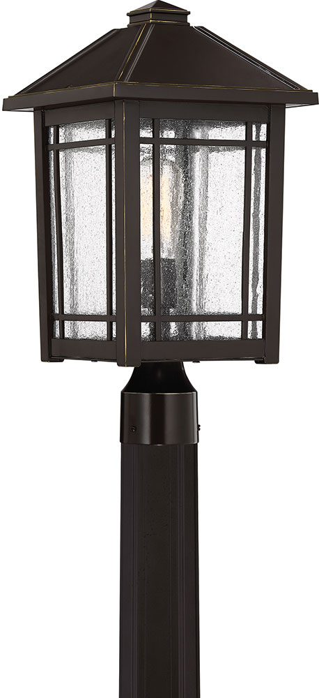 Quoizel CPT9010PN Cedar Point Palladian Bronze Exterior Lamp Post ...