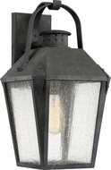 Quoizel CRG8410MB Carriage Traditional Mottled Black Outdoor 10  Wall Sconce Lighting