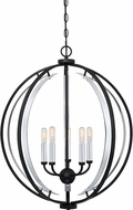 Quoizel CRT2824EK Concert Modern Earth Black 24  Hanging Pendant Light