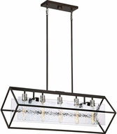 Quoizel CRV536WT Caravan Modern Western Bronze Kitchen Island Lighting