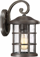 Quoizel CSE8408PN Crusade Palladian Bronze Outdoor 8  Wall Sconce Lighting
