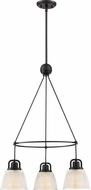 Quoizel DBN5103K Dublin Mystic Black Mini Chandelier Light
