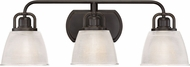 Quoizel DBN8603PN Dublin Palladian Bronze 3-Light Bath Light Fixture