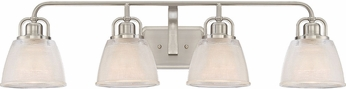 Quoizel DBN8604BN Dublin Brushed Nickel 4-Light Bath Lighting