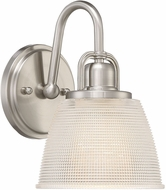 Quoizel DBN8701BN Dublin Brushed Nickel Wall Lighting Fixture
