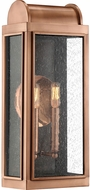 Quoizel DL8408AC Danville Vintage Aged Copper Outdoor 8  Wall Lamp
