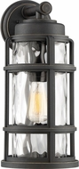 Quoizel DST8409PN DeSoto Contemporary Palladian Bronze Outdoor 9  Lighting Sconce
