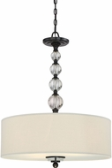 Quoizel DW1824D Downtown Dusk Bronze Drum Pendant Lamp
