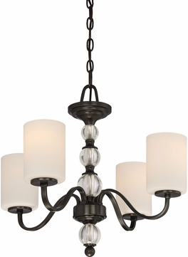 Quoizel DW5004D Downtown Dusk Bronze Mini Chandelier Light