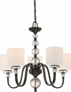 Quoizel DW5005D Downtown Dusk Bronze Chandelier Lighting