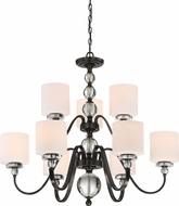 Quoizel DW5009D Downtown Dusk Bronze Lighting Chandelier