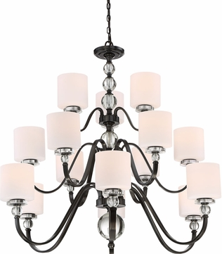 Quoizel DW5015D Downtown Dusk Bronze Chandelier Lamp