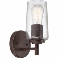 Quoizel EDS8601WT Edison Retro Western Bronze Finish 10  Tall Outdoor Wall Mounted Lamp