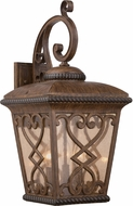 Quoizel FQ8411AW Fort Quinn Traditional Antique Brown Outdoor Wall Lighting